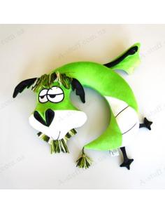 """Pillow for the plane """"Dragon Panteleimon"""""""