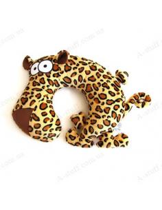 "Pillow for the plane ""Leopard Eduard"""