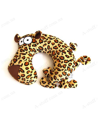 "Pillow for the plane ""Leopard Eduard"""