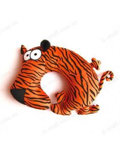 """Дорожня подушка """"Тигрець молодець"""""""