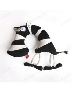 """Road cushion """"Zebra good"""""""
