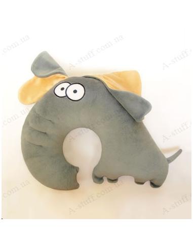 """Дорожня подушка """"Слон Філлімон"""""""