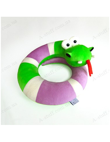 """Pillow for Traveling """"Snake Loophole"""""""