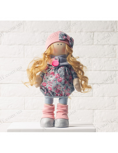 """Textile doll """"Norma"""""""