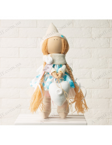 "Textile doll ""Lily"""