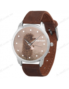 "Wristwatch ""Hedgehog in the Fog"""