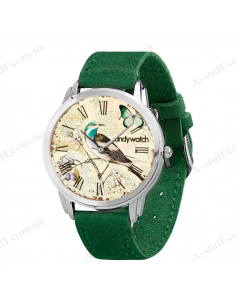 """Watch Wrist """"Forest bird"""""""