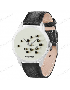 """Wristwatch """"Chaos in the cube"""""""