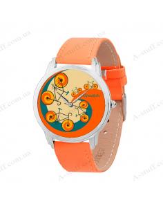 """Wristwatch """"Bicycles"""""""