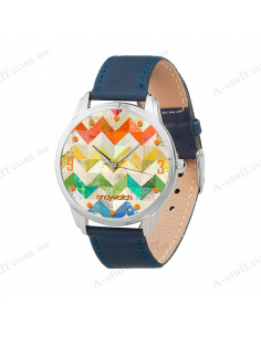 "Wristwatch ""Zigzags"""