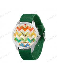 """Wristwatch """"Zigzags"""""""