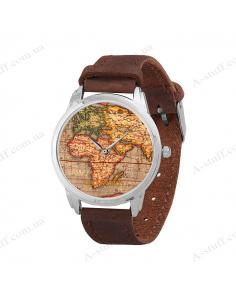 "Wristwatch ""World Map"""