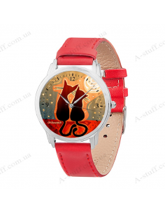 "Wristwatch ""Cats"""
