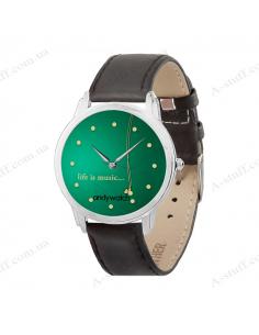 "Wrist Watch ""Life is music"""