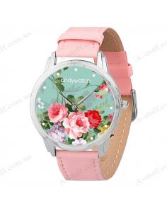 """Наручний годинник """"Ніжні квіти"""""""