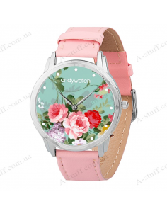"Wristwatches ""Delicate flowers"""