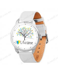 """Часы наручные """"Ukraine (дерево)"""""""
