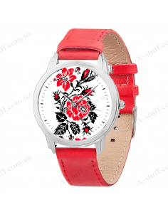 "Wristwatch ""Flowers Embroideries"""