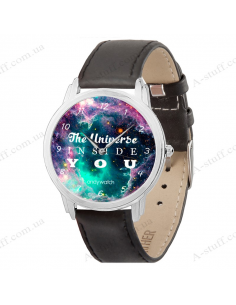 "Wristwatch ""The universe inside you"""
