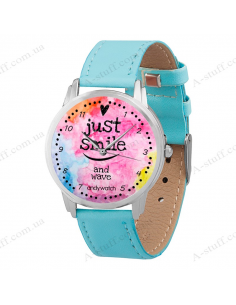 "Wristwatch ""Just smile"""
