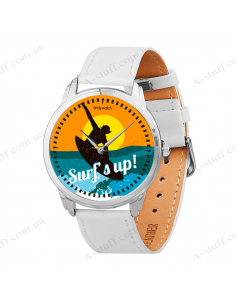 "Wristwatch ""Hold the wave"""