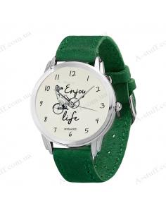 """Wristwatch """"Enjoy life"""""""