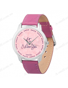 "Wristwatch ""I love you"""
