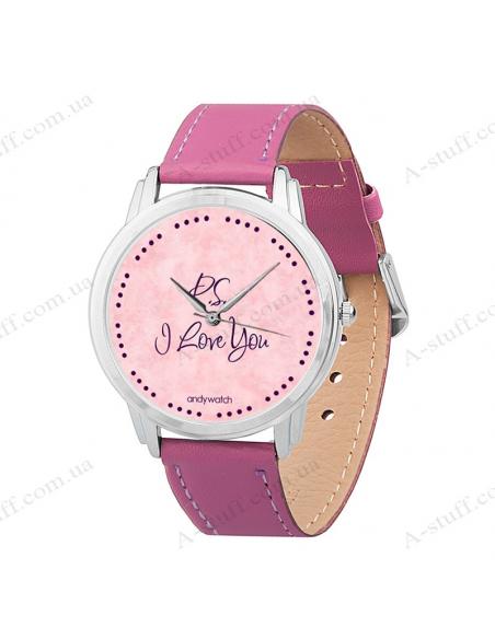 """Wristwatch """"I love you"""""""