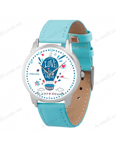 """Wristwatch """"Love is in the air"""""""