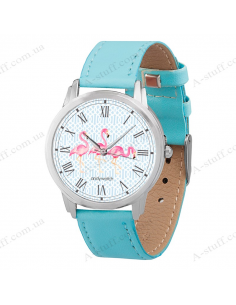 "Wristwatch ""Flamingo"""