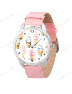 "Wristwatch ""Ice cream"""