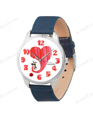 """Годинник наручний """"Тепле серце"""""""