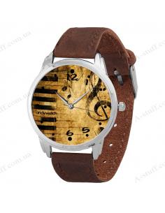 """Wristwatch """"Treble clef"""""""