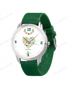 "Wristwatch ""Flower field"""
