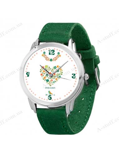 """Годинник наручний """"Квіткове поле"""""""
