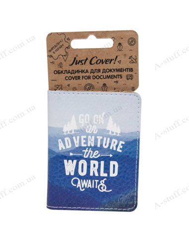 """Cover on the id passport eco leather """"Go on"""""""