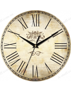"""Clock for wall """"Country 3"""""""
