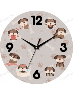 "Clock for wall ""Country 15"""
