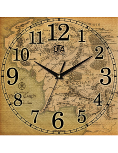 """Wall clock """"Middle Earth"""""""