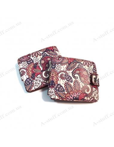 """Wallet """"Purple pattern"""""""