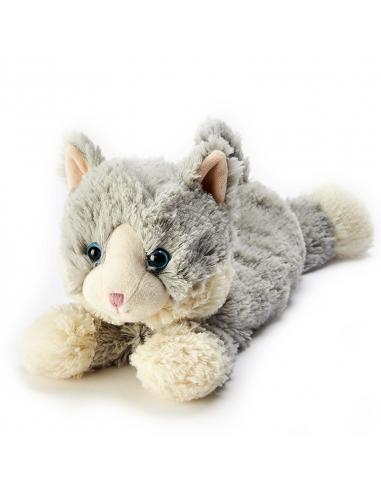 """Іграшка грілка """"Кошеня сіре, що лежить"""""""