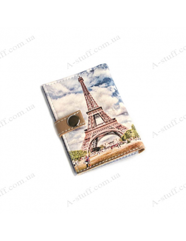 """Cover for the id passport """"Eiffel Tower"""""""