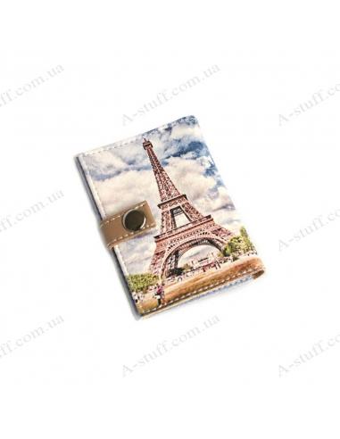 """Обложка для id паспорта """"Эйфелева башня"""""""
