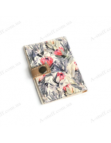 """Cover for the id passport """"Floral"""""""