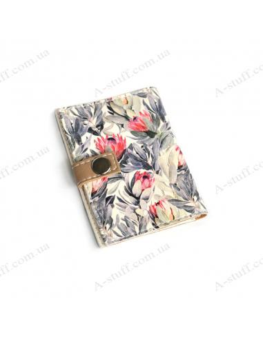 """Обкладинка для id паспорта """"Квітковий"""""""
