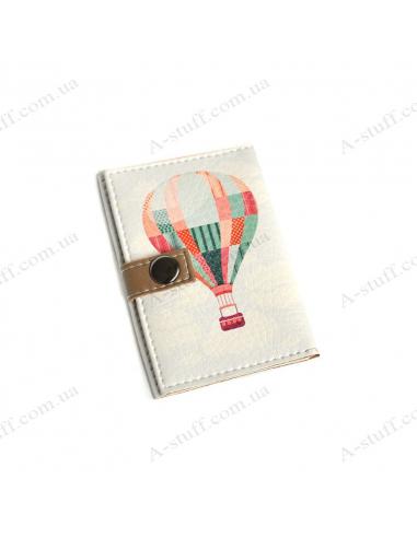 """Обкладинка для id паспорта """"Повітряна куля"""""""
