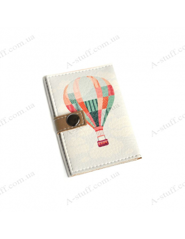 """Обложка для id паспорта """"Воздушный шар"""""""