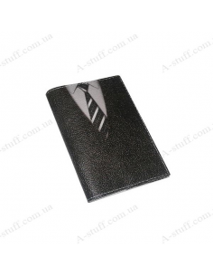 """Cover for passport leather """"Tie"""""""