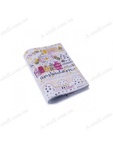 "Обкладинка для паспорта шкіра ""Amsterdam"""