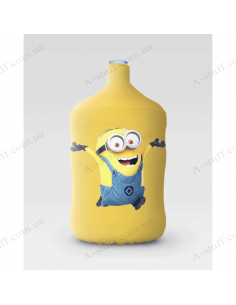 """Pouch for bottle """"Dave runs"""""""